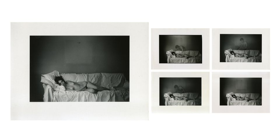 Duane Michals, The Young Girl's Dream, 1970