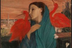 Peinture : Edgar Degas, « Jeune femme à l'Ibis », The Metropolitan Museum of Art, New York