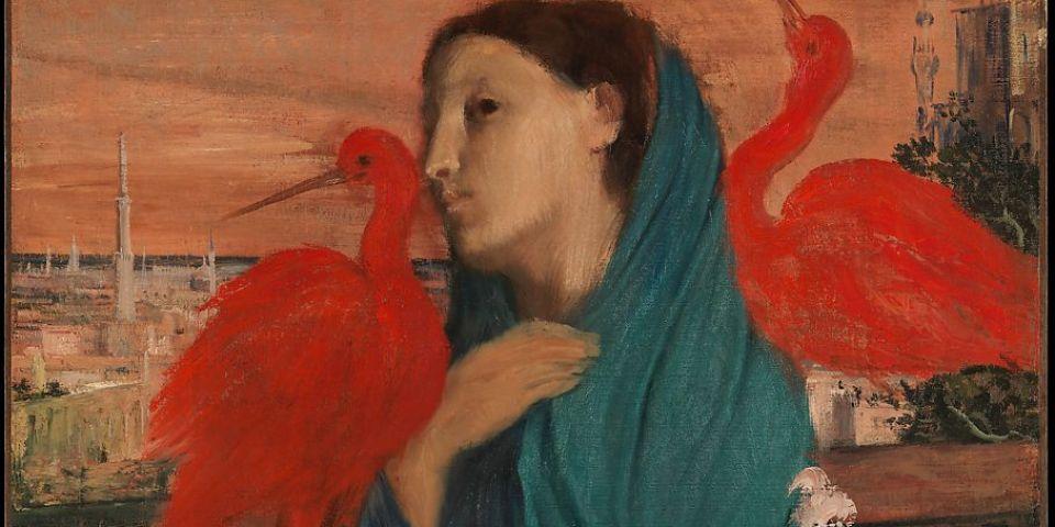 Peinture : Edgar Degas, « Jeune femme à l'Ibis », The Metropolitan Museum of Art, New York